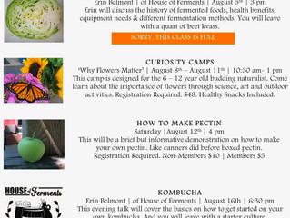 August's Happenings