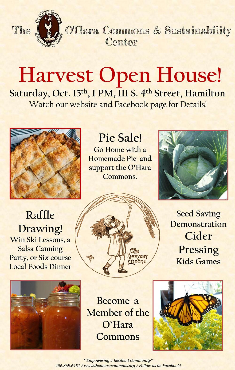 Harvest Open House