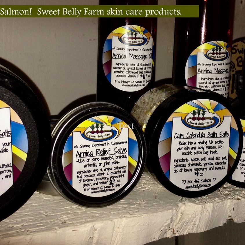 Sweet Belly Farm. Skin Care
