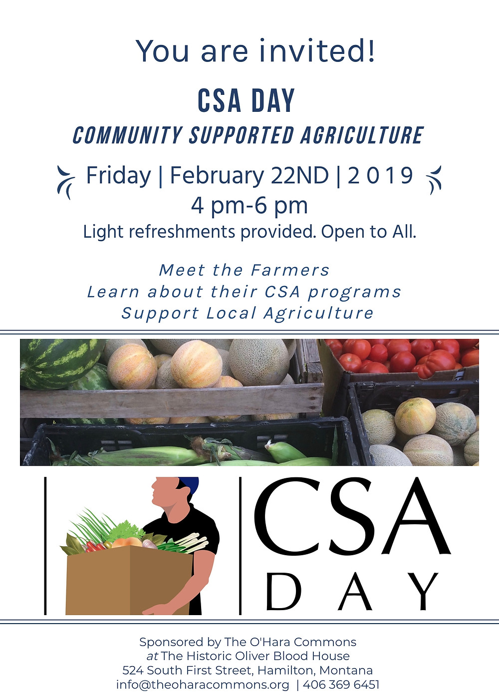 CSA Day Poster