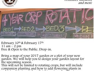 Garden Planning Clinic.