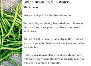Haricots Verts AKA Tender Green Beans