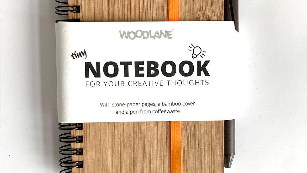 Bamboo Notebook & Pen of Coffeewaste
