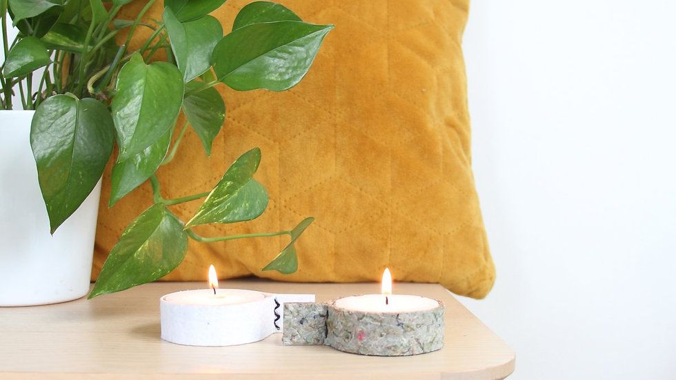 Tealight Holders Incl. Candle