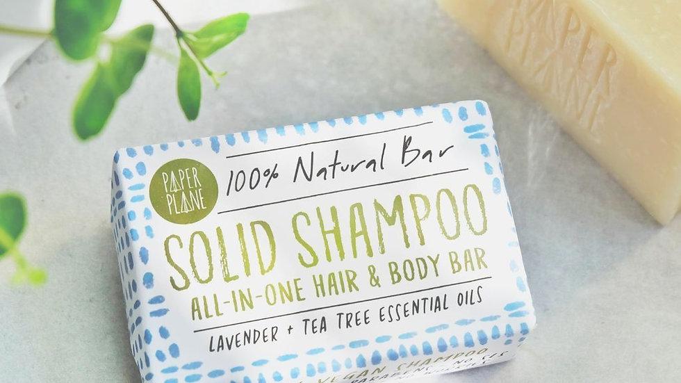 Lavender and Tea Tree 100% Natural Vegan Solid Shampoo