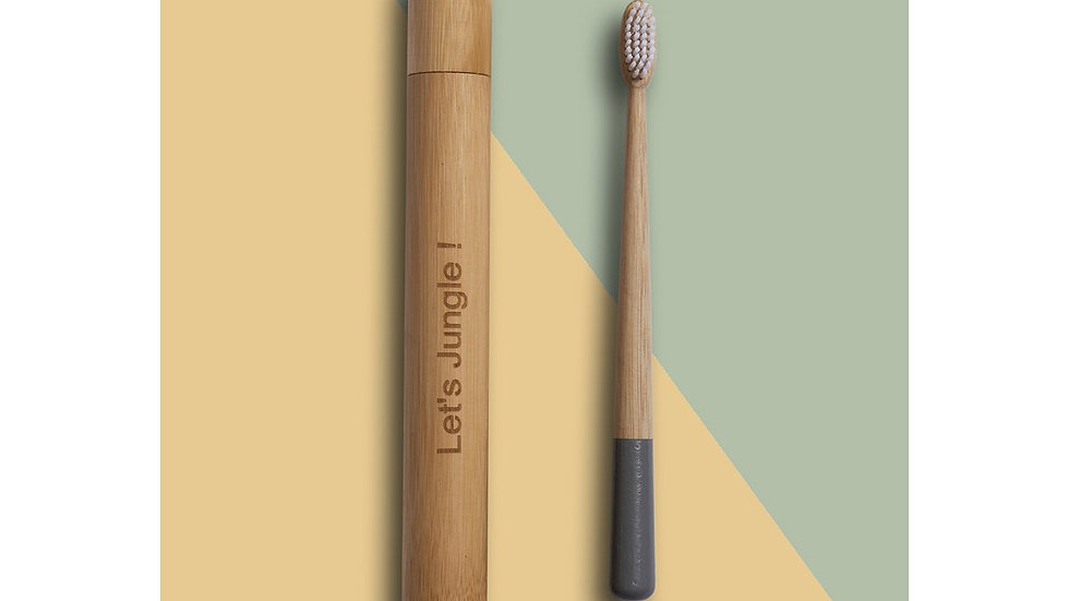 Bamboo Travel Box Incl. Bamboo Toothbrush