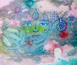 Peinture inspirée  Patricia Chaintreau