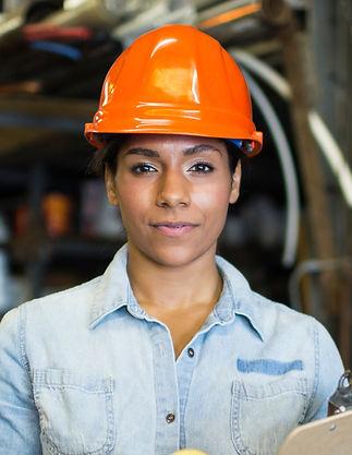 Trabajador de sexo femenino