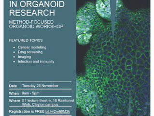 Emerging Technologies in Organoid Research: Method-focused organoid workshop