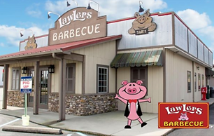 lawlers barbecue pig up
