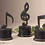 Thumbnail: Accessories- Music Notes Metal Figurines