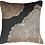 Thumbnail: Cushion: Leaf Bone Black Lounge