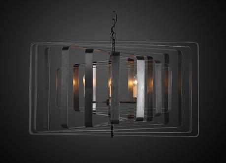 Lighting - EML Tamarama in Black Brass