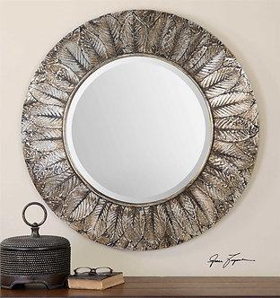 Mirror - Foliage Round