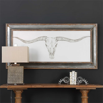 Artwork - UTT Western Skull Mount