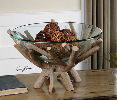 Accessories- Thoro Wood Bowl