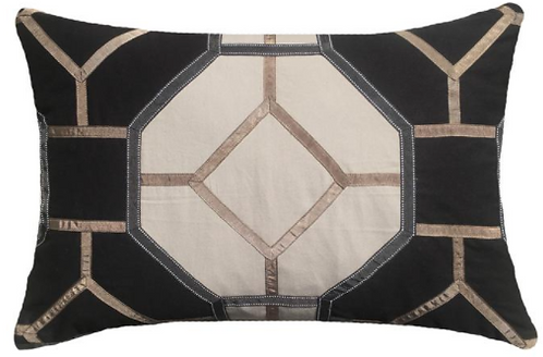 Cushion: Pagoda Black Lumber