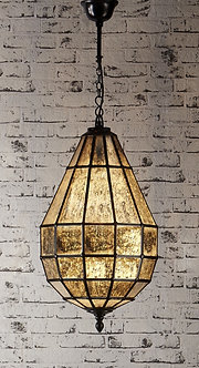 Lighting - EML Portobello Glass Pendant Lamp In Black