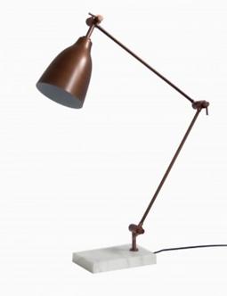Lighting - Essex Table Lamp In Antique Copper