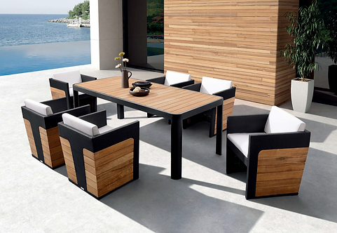 GREENWICH 7 PIECE DINING SET