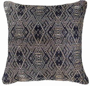 Cushion: Shoowa Weave Black Lounge