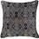 Thumbnail: Cushion: Shoowa Weave Black Lounge