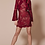 Thumbnail: WINNONA Dress: Sorrento Long sleeve Wine