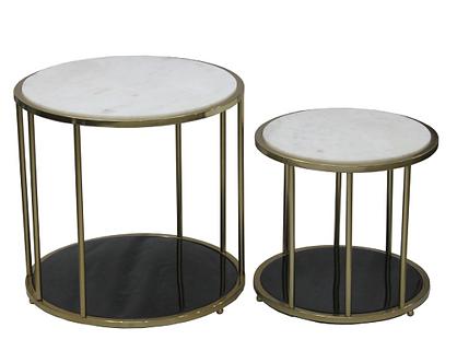 Table- BARCELONA SIDE TABLE SET