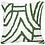 Thumbnail: Cushion: Earth File Print Emerald lounge