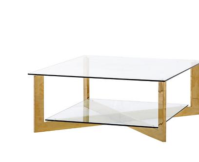 Table- LUIGI SQUARE COFFEE TABLE