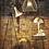 Thumbnail: Lighting - Rotterdam Floor Lamp In Antique Brass