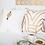 Thumbnail: Cushion: Earth File Screen Print Gold Lounge