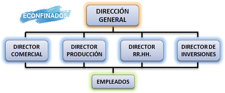 Modelo funcional de estructura organizativa