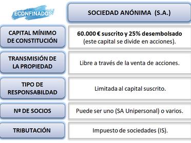 La Sociedad Anónima (S.A.)