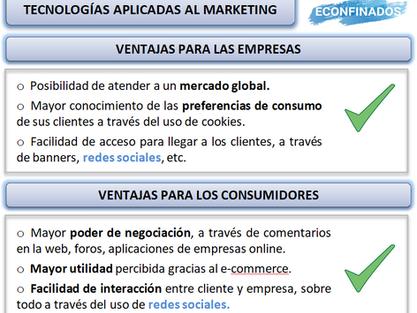 Nuevas tecnologías aplicadas al marketing
