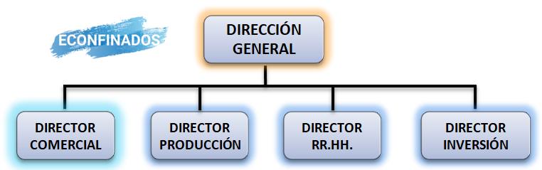 Departamentalización por funciones (funcional)