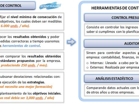 La función de control