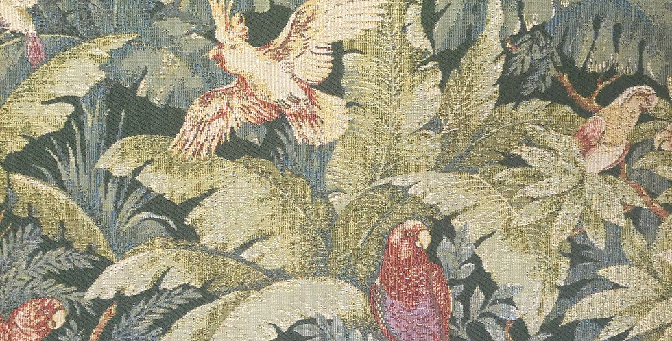 Green - Red Parrot Floral