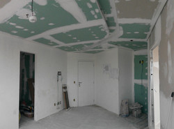 Aplicação do drywall acústico