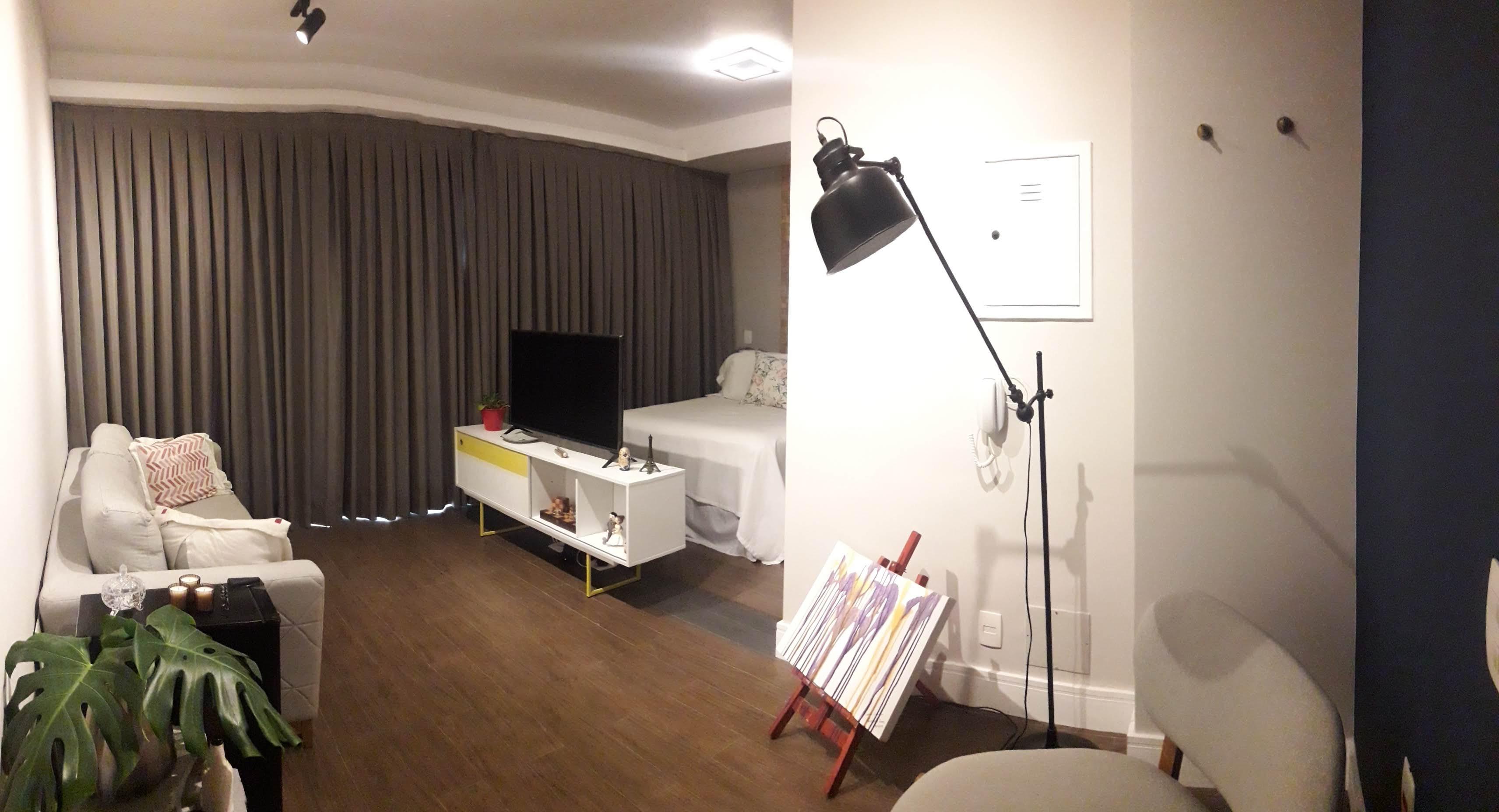 Sala estar e dormitório