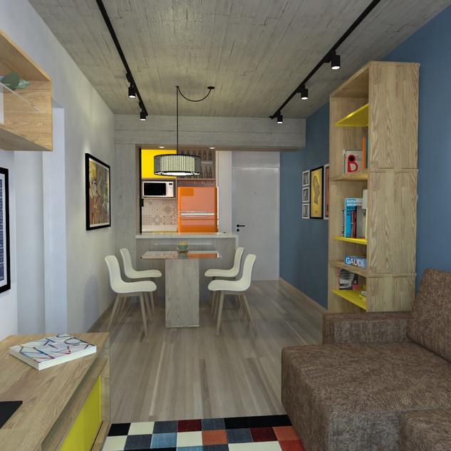 Apartamento irmãos artistas