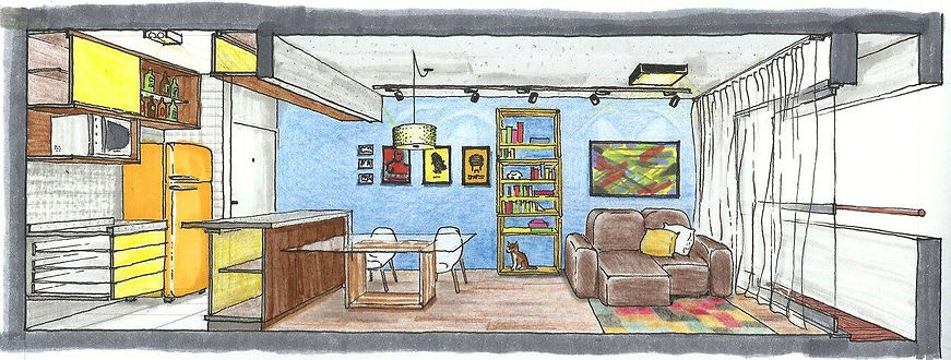 arquitetura, decoração, interiores, construção
