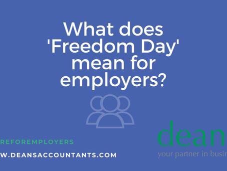 What now for employers with Covid restrictions being eased?
