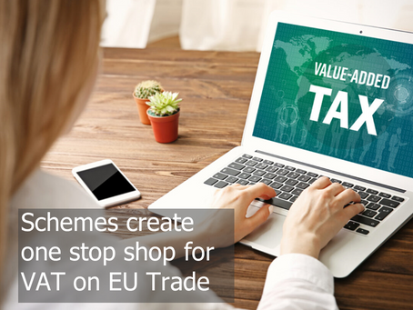 Schemes create one stop shop for VAT on EU trade