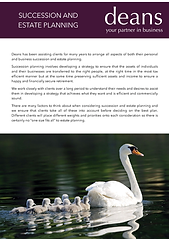 Succession and Estate Planning - front s