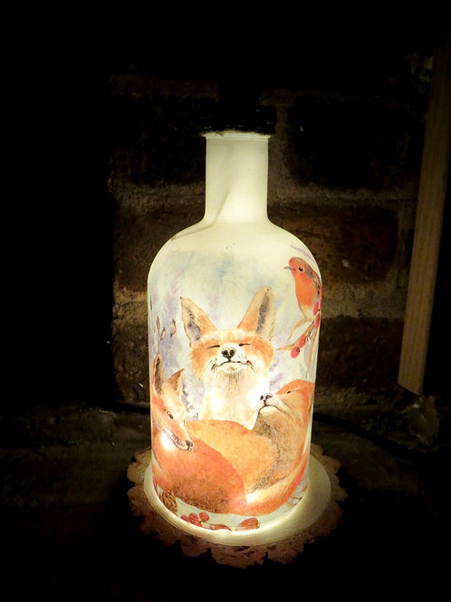 Stumpy Fox Light Up Bottle