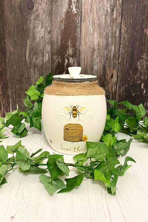 Large Bumblebee 2Litre Storage Jar