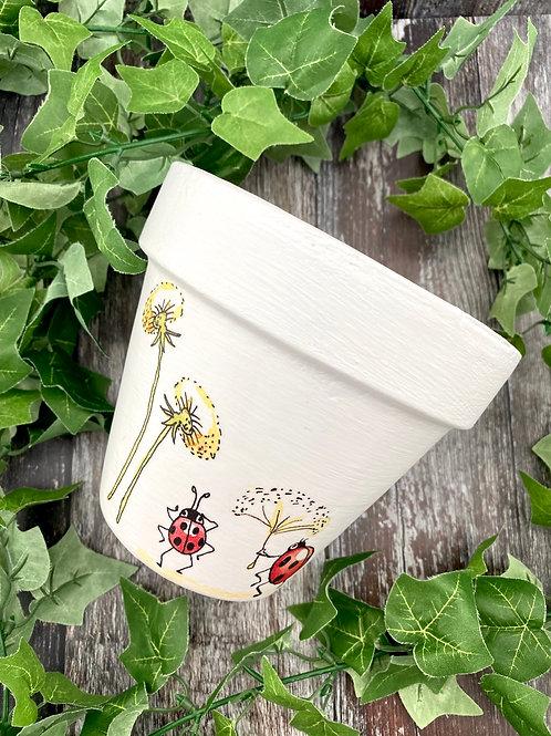 Ladybird Plant Pot