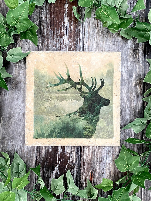 Forest Stag Tabletop Saver