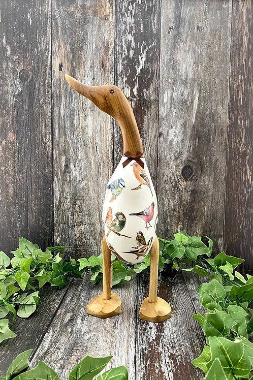 Wild Bird Large Wooden Duck